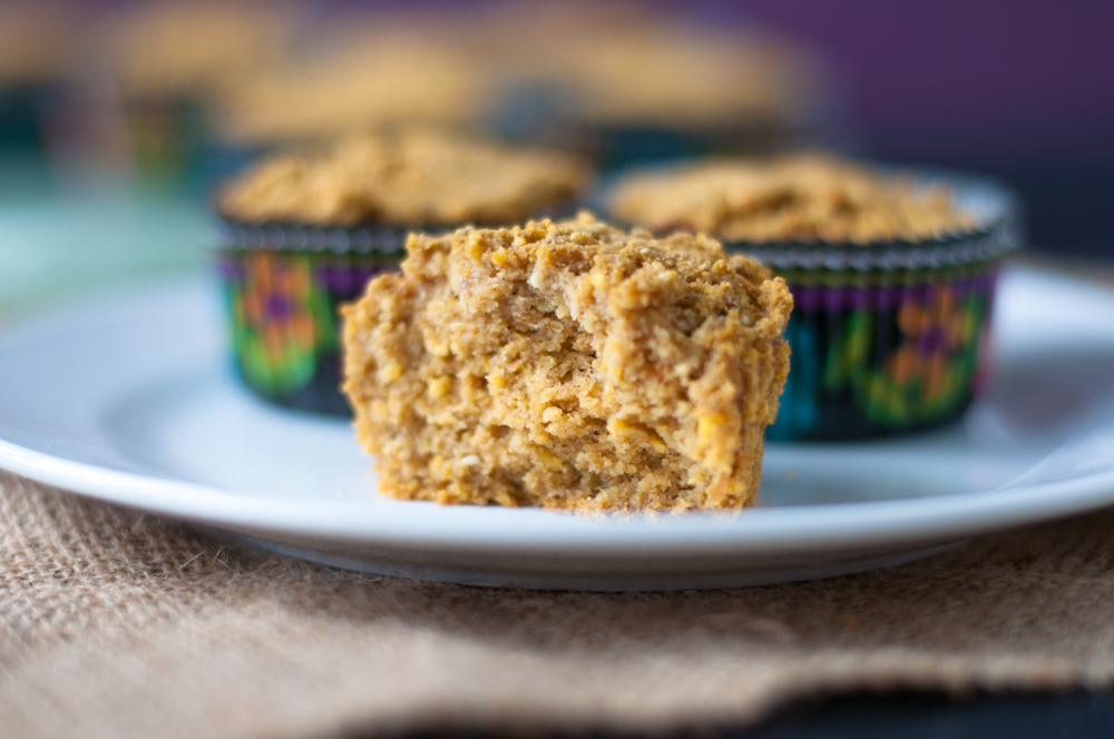 A fall inspired cornbread muffin. Pumpkin keeps this muffins moist while maple syrup adds a touch of sweetness. Perfect served as a snack, breakfast or alongside a bowl of chili.