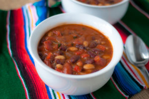 Homemade vegan chili is a hearty, comforting meal that's perfect for cooler evenings. #vegan #chili
