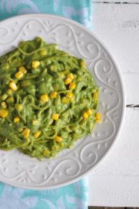 Green Poblano Pasta from The Vegan Mexican Cookbook by Jeni Hernandez