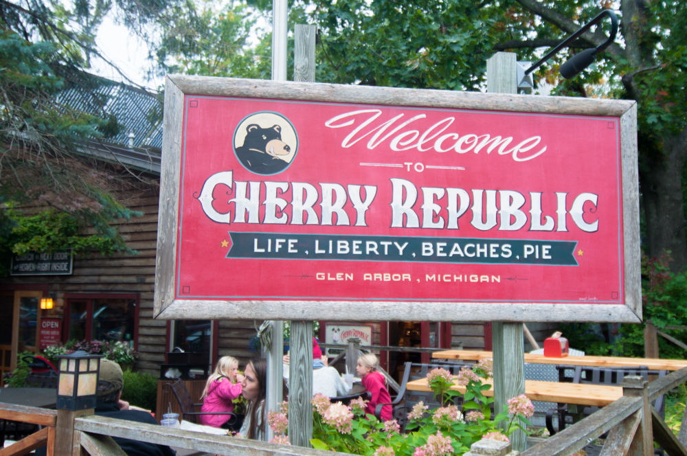Cherry Republic in Glen Arbor Michigan
