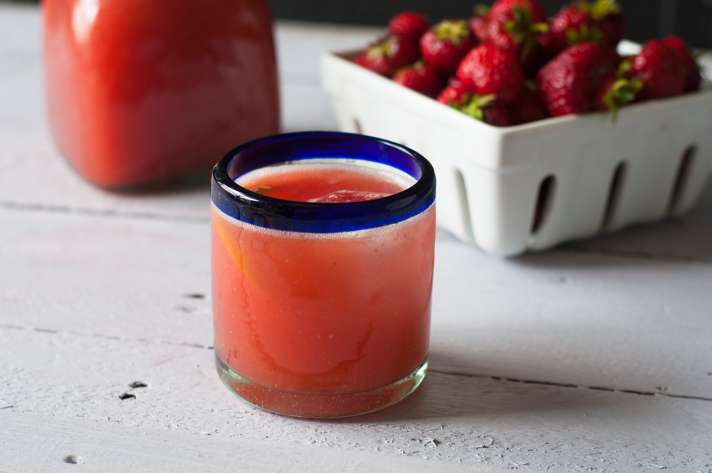 Orange Strawberry Agua Fresca is a delicious Mexican fruit based drink that is refreshing and packed full of vitamin c.