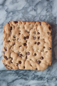 Vegan Chocolate Chip Cookie Bar