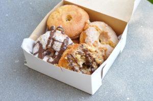 Vegan & Gluten-Free Vegan Donuts from Erin Mckenna's Bakery at Disney Springs. #vegan #vegantravel #disneyworld
