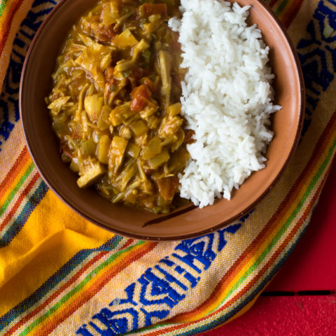 Easy Vegan Jackfruit Curry