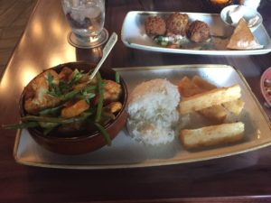 Vegan dining options at Skipper Canteen at Disney's Magic Kingdom #vegan #disneyworld