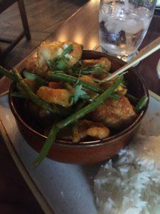 Vegan Curry Crew Stew from Disney's Skipper Canteen at Magic Kingdom. #vegan #travel #disneyworld