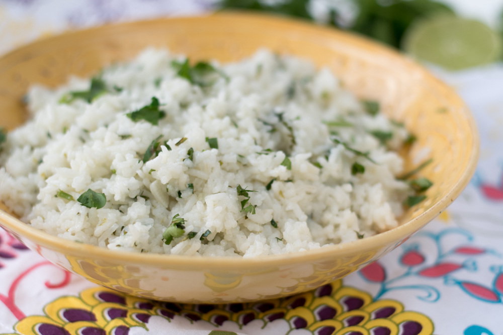 Cilantro Lime Rice is perfect side dish with your Mexican dinners. It's easy and budget friendly. Also great in your burrito bowls.