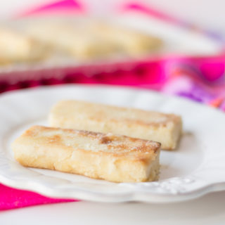 Citrus Tequila tofu is bursting with bright flavor. Tofu is marinated in a citrus and tequila mixture then it's panfried. A delicious vegan main protein for dinner!