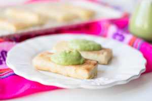 Tofu is marinated in a bright citrus and tequila mixture. Serve this tofu with a creamy avocado salsa and a side of rice or salad for a filling main entree.