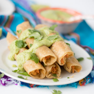 Carrot and Parsnip Taquitos
