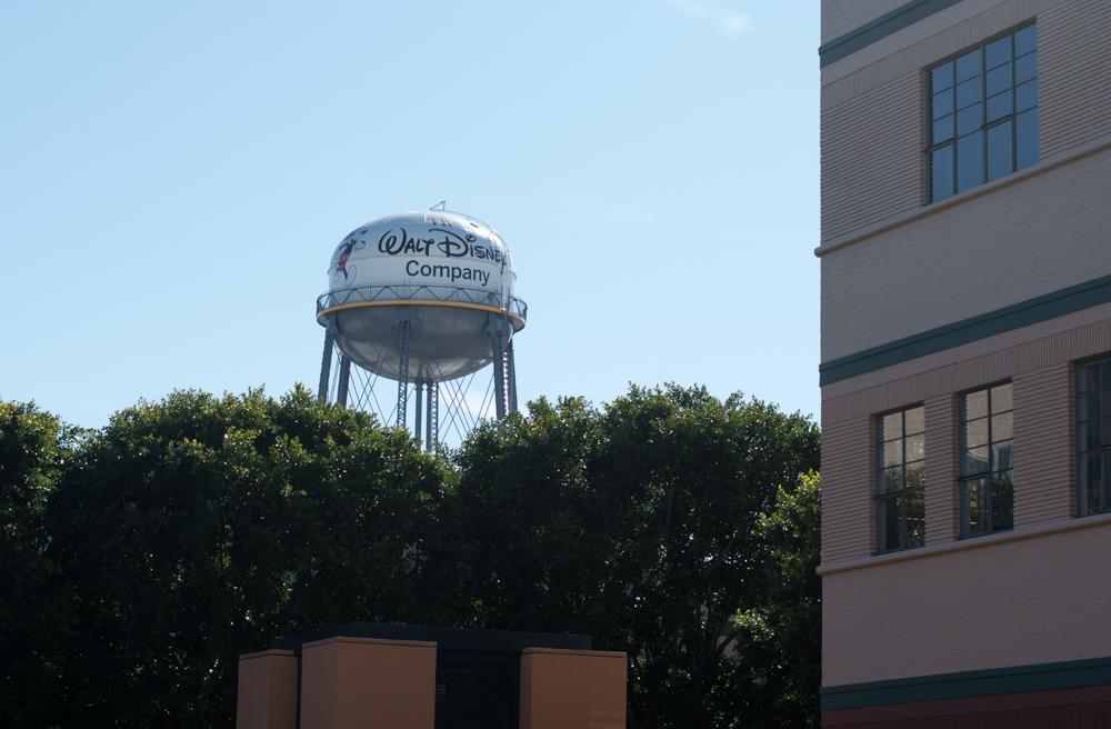 Walt Disney Studios Lot in Burbank, CA