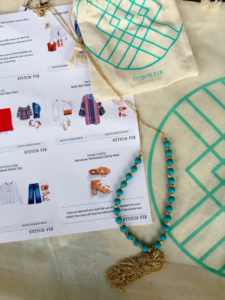 Gorgeous necklace from Stitch Fix. This necklace is inspired by the Havana collection for spring.