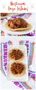 A vegan spin on traditional Mexican Tinga. Mushrooms create a satisfying plant-based tinga! Quick & easy too!