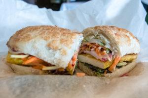 Vegan dining options in Saugatuck, Michigan. The Farmhouse Deli in Douglas offers vegan options!