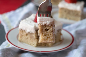 This Vegan Tres Leches Cake is perfect for Cinco de Mayo!