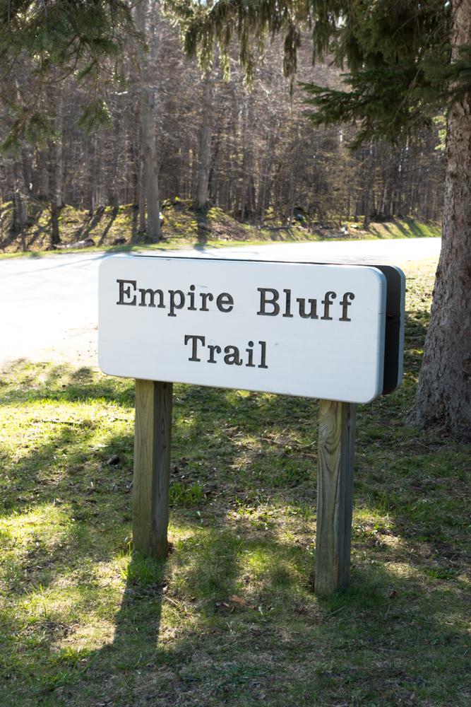 Empire Bluff Trail at Sleeping Bear Dunes