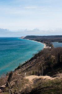 Hiking the Empire Bluff Trail at Sleeping Beat Dunes