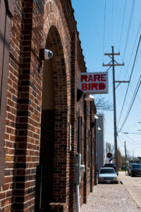 Rare Bird Brewery located in Traverse City, Michigan