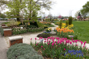 Windmill Island Gardens located in Holland, Michigan