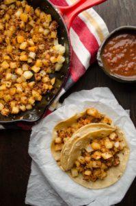 20 Vegan Taco Recipes perfect for Cinco de Mayo.