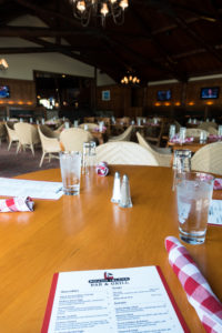 Mission Point Resort dining options at Mackinac Island.