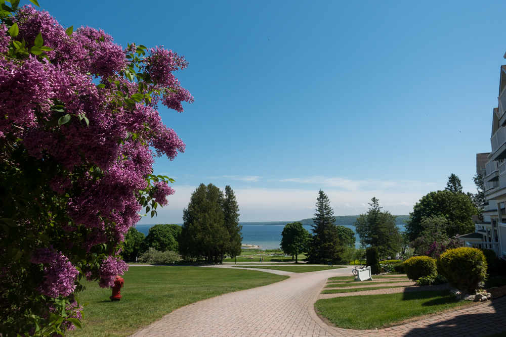 Mission Point Resort located on Mackinac Island.