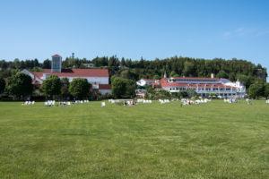 Mission Point Resort located on Mackinac Island