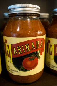 Pick up a bottle of Mission Point's Marinara Sauce.