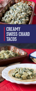 The rich combination of cream and poblano peppers is popular all throughout Mexico. If you've never had the luscious combination of green chiles and leafy greens, you are in for a real treat!