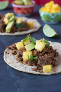 Beer Braised Jackfruit Tacos are a filling plant-based taco filling that is packed with flavor.