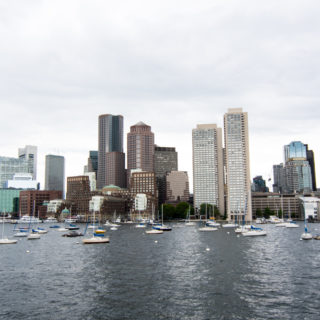 View of the Boston Harbor from The Boston Harbor Cruise