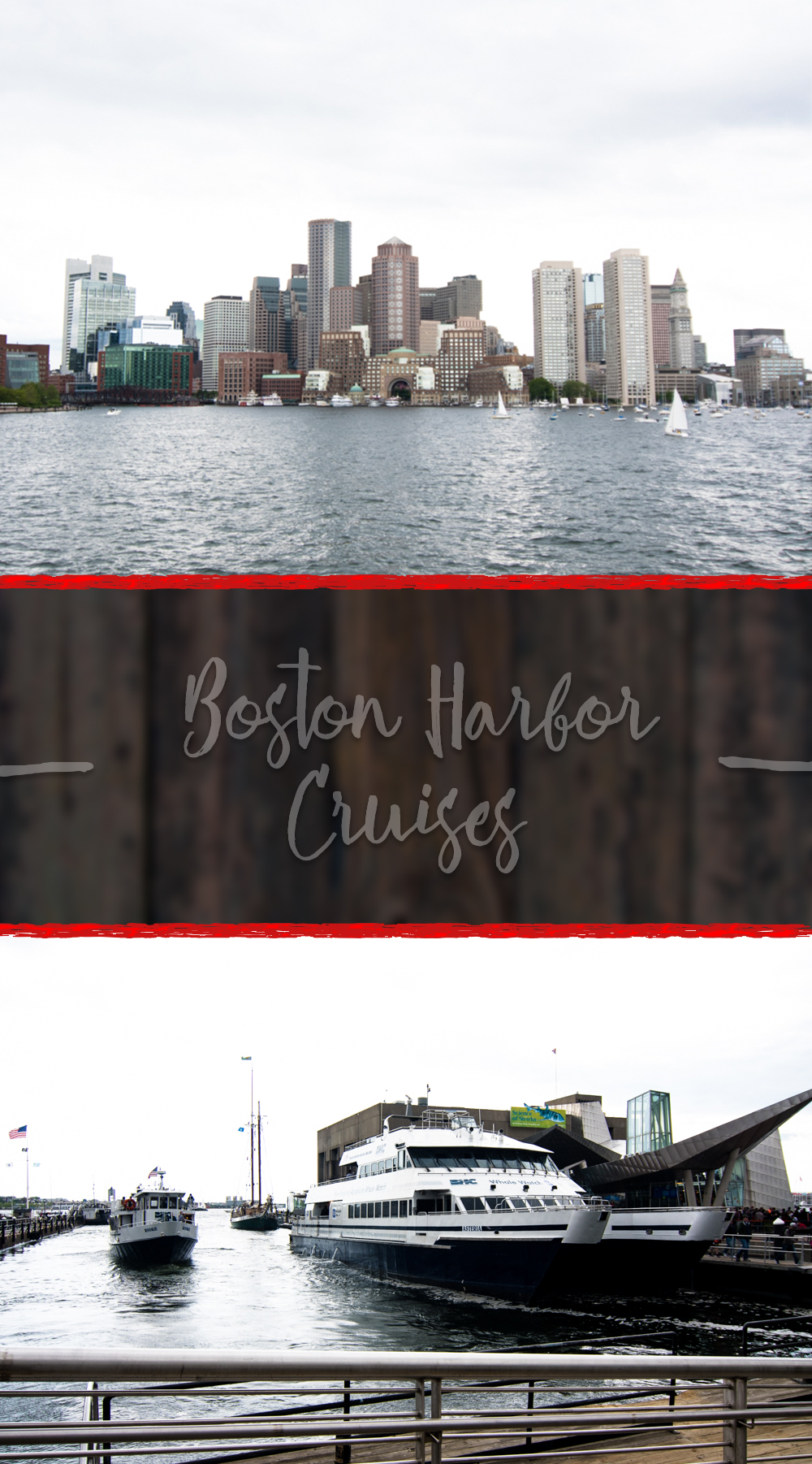 Planning a trip to Boston? Check out Boston Harbor Cruises while your are there! They offer a wide range of sightseeing cruises.