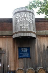 Samuel Adams Brewery Tour in Boston.