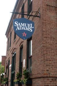 Samuel adams brewery tour in Boston