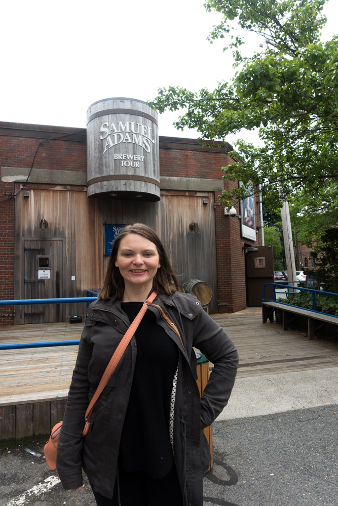 Sam Adams Brewery Tour in Boston