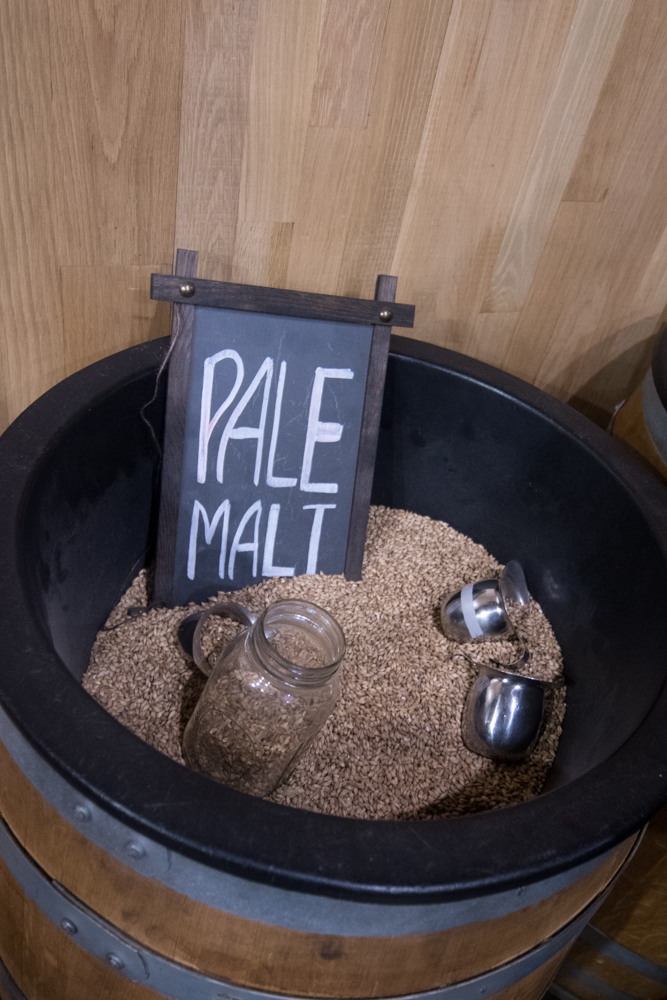 Sam Adams Morning Mash In Tour at their brewery in Boston