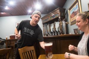 Tasting Room at Samuel Adams Brewery in Boston