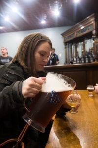 Sam Adams Brewery Tasting Room in Boston