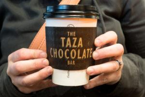 Vegan Hot Chocolate at the Taza Chocolate Bar in Boston