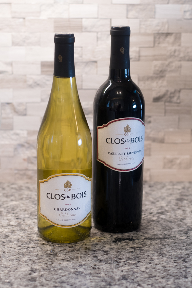A wine tasting is a great way to try new wines that you might have tried otherwise. Invite your friends over and taste some like wines like Clou du Bois Chardonnay and Clou du Bois Cabernet Sauvignon.