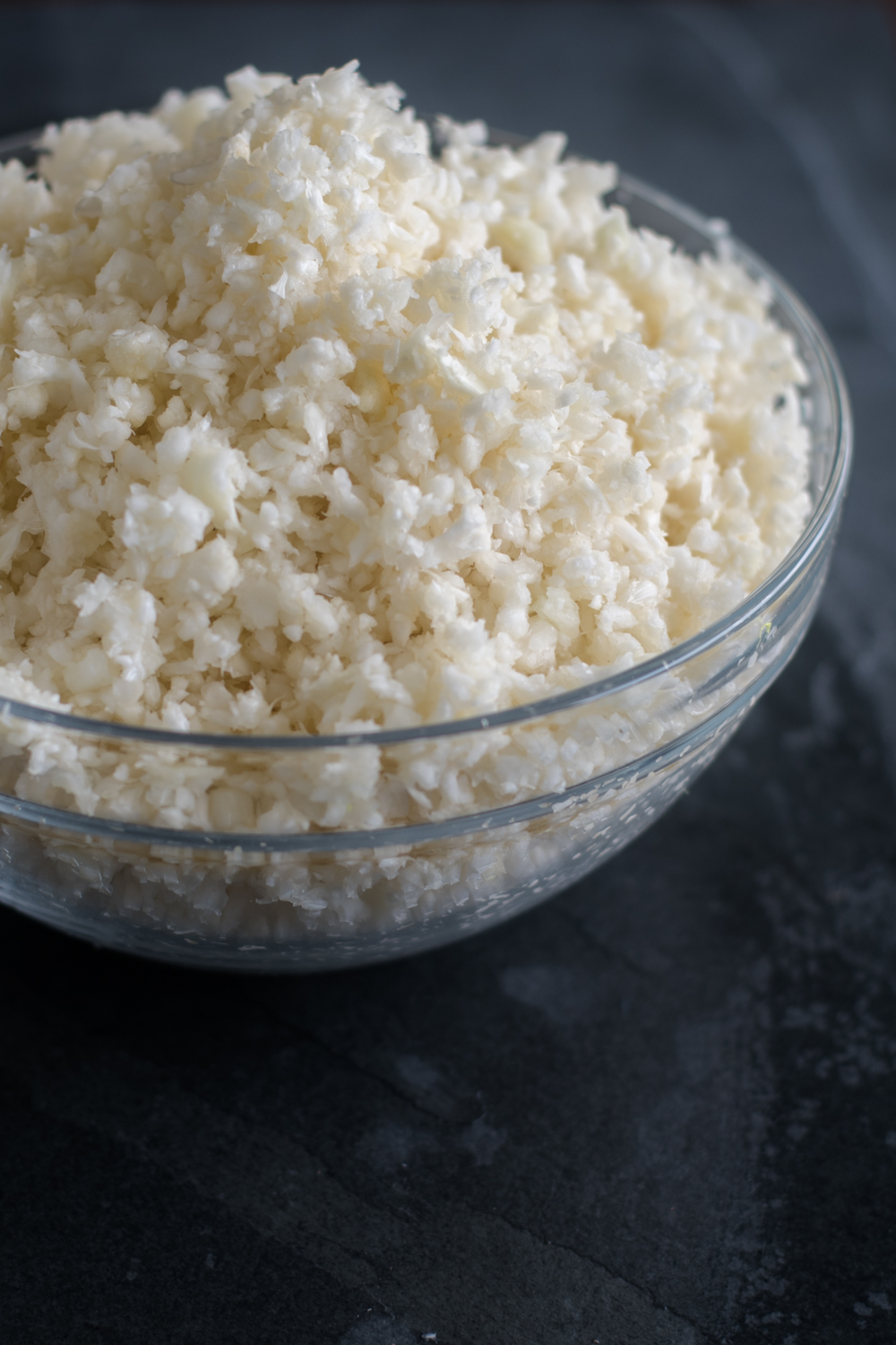 Cauliflower rice makes a for a great rice substitute including traditional Mexican Rice.