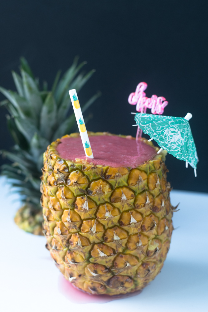 This Pineapple Watermelon Smoothie is perfect for summer
