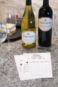 Tips on how to host a wine tasting at home! Plus, free wine tasting printable!