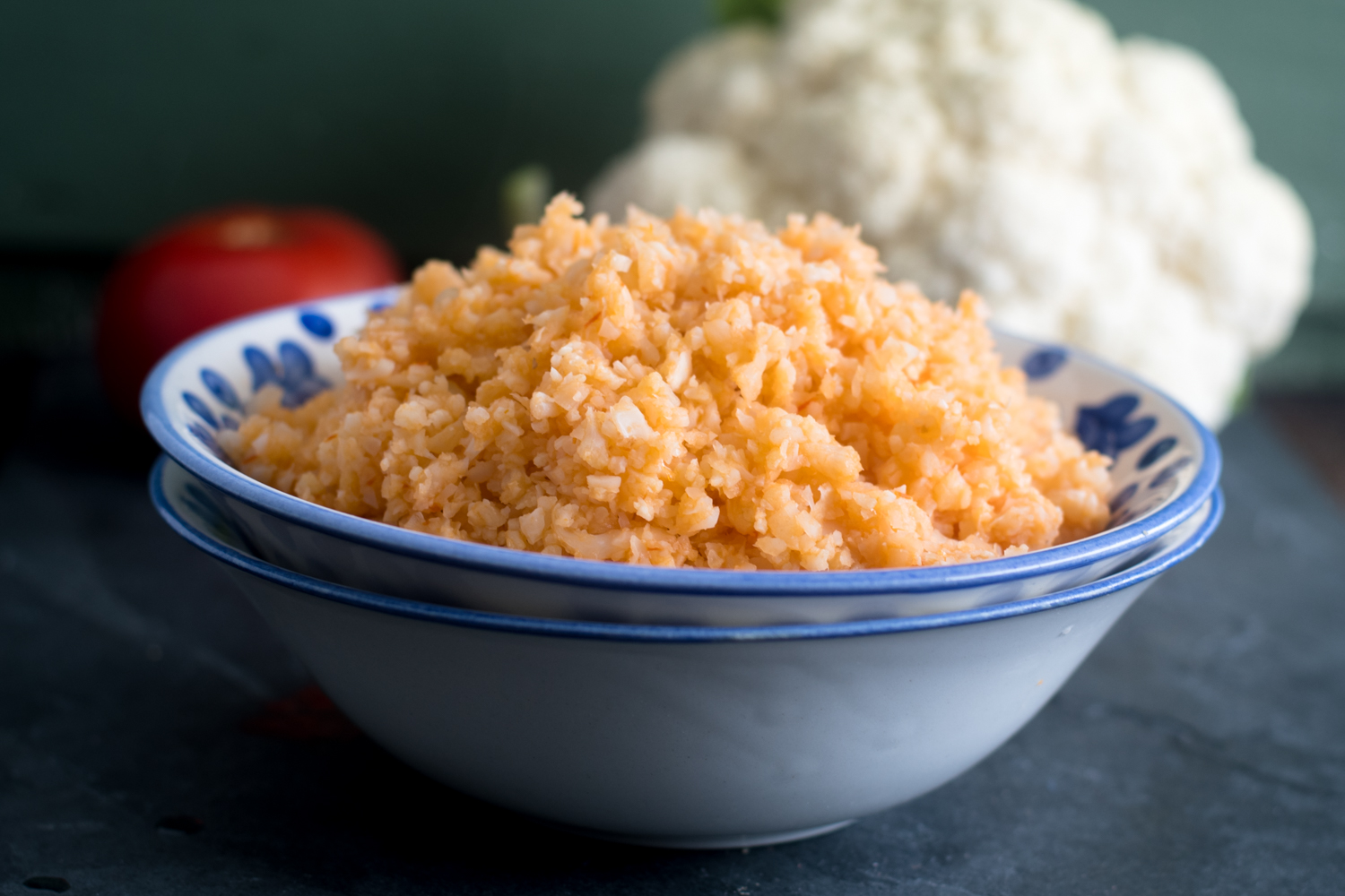 A healthier version of traditional Mexican red rice. A healthy side for your next Mexican fiesta.