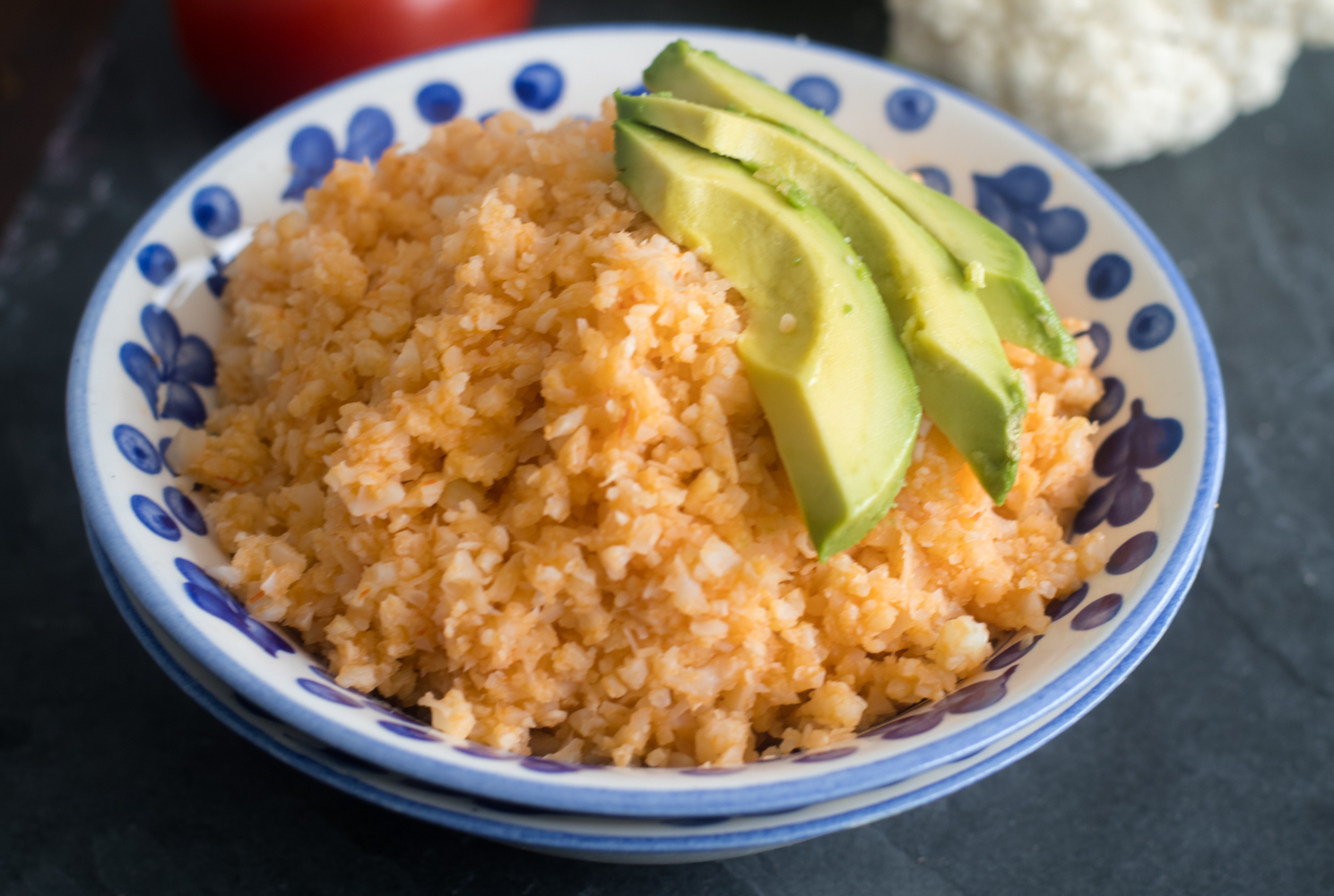 Mexican Cauliflower Rice is a heathy alternative to traditional rice recipes.