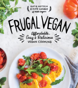 Frugal Vegan features 99 affordable and delicious vegan recipes. This cookbook offers an amazing selection of delicious vegan recipes that won't break the bank.