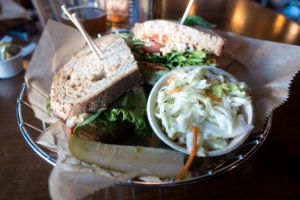 Vegan options at Founders Brewery located in Grand Rapids, Michigan