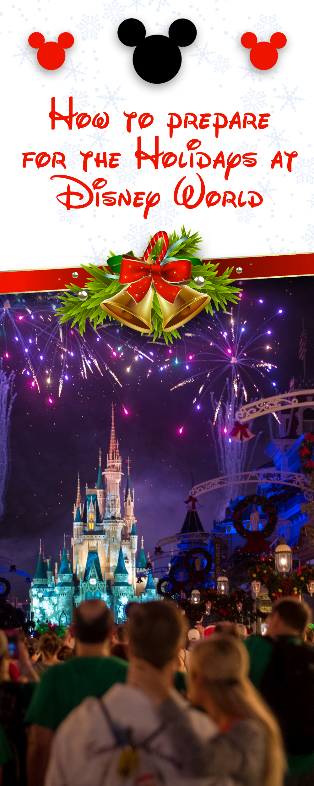 Planning a trip to Disney World during the holidays? Check out my tips and tricks on how to prepare for the holidays at Disney World.