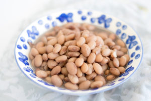 Make a batch of pinto beans in the slow cooker to use throughout the week.