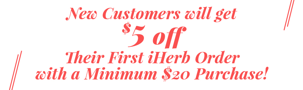 Save money on your first iHerb order!